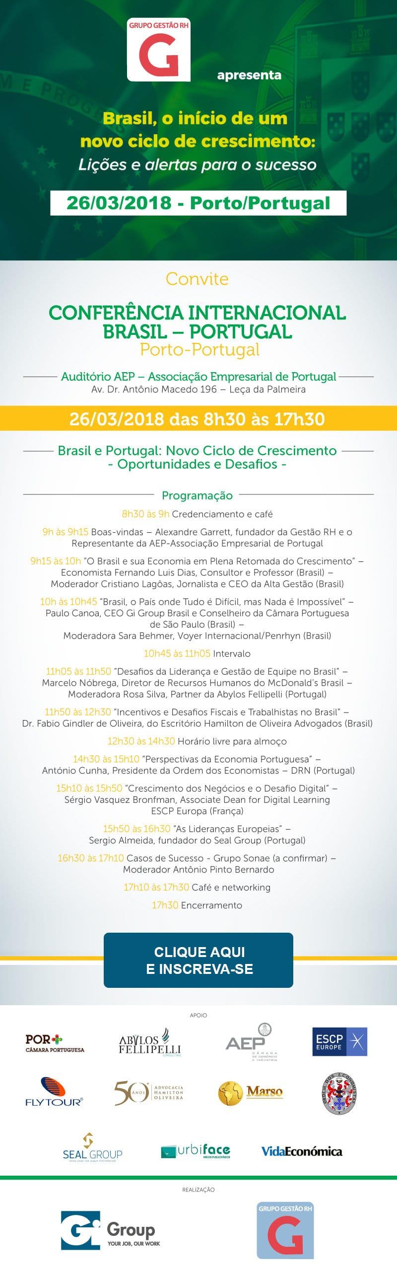 Evento Portugal 2018
